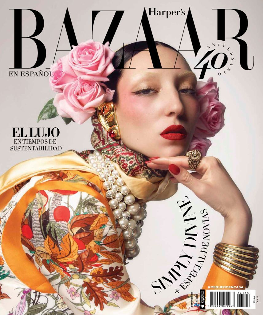 Harper's Bazaar México Back Issue ABRIL 2020 (Digital) -   22 beauty Editorial harpers bazaar ideas