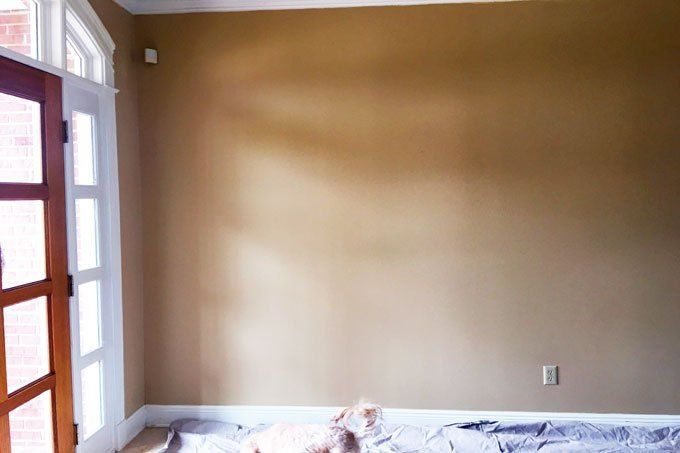Transform your walls with shiplap. We can't believe it's this easy!