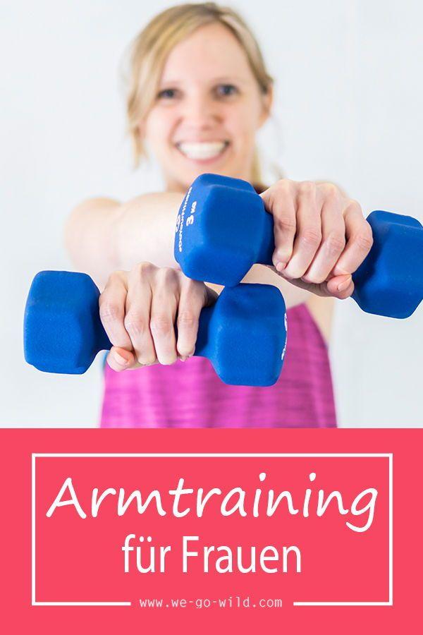 Das beste Arm Training für Frauen: 21 effektive Übungen für die Oberarme