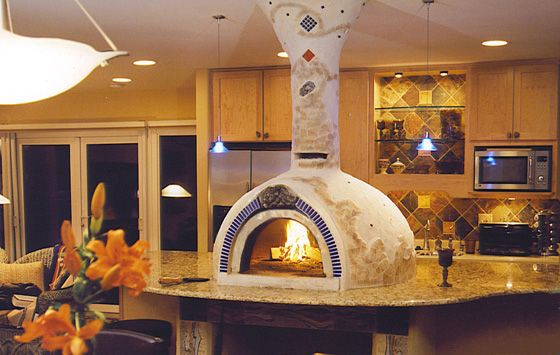 Hi Tech Appliance Wood Pizza Ovens Brick Ovens Indoor