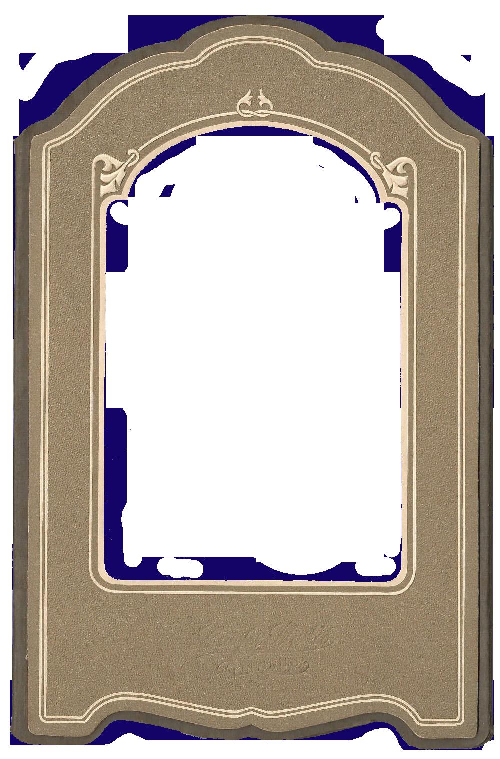 Vintage Photo Mat Frame Printable From Knickoftime Net Vintage Photo Frames Antique Photo Frames Vintage Photos
