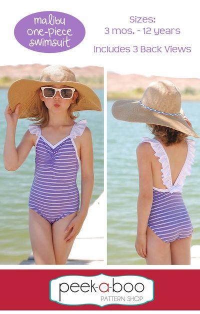 Malibu One-Piece Swimsuit | DIY: Fashion | Pinterest