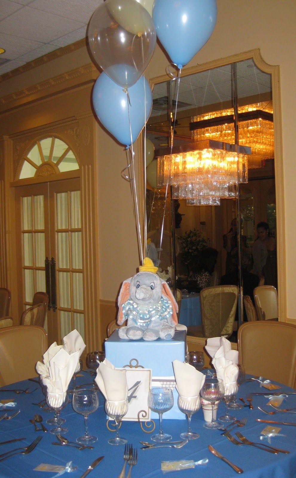 Centerpieces Dumbo Baby Shower Dumbo Baby Shower Theme Disney Baby Shower