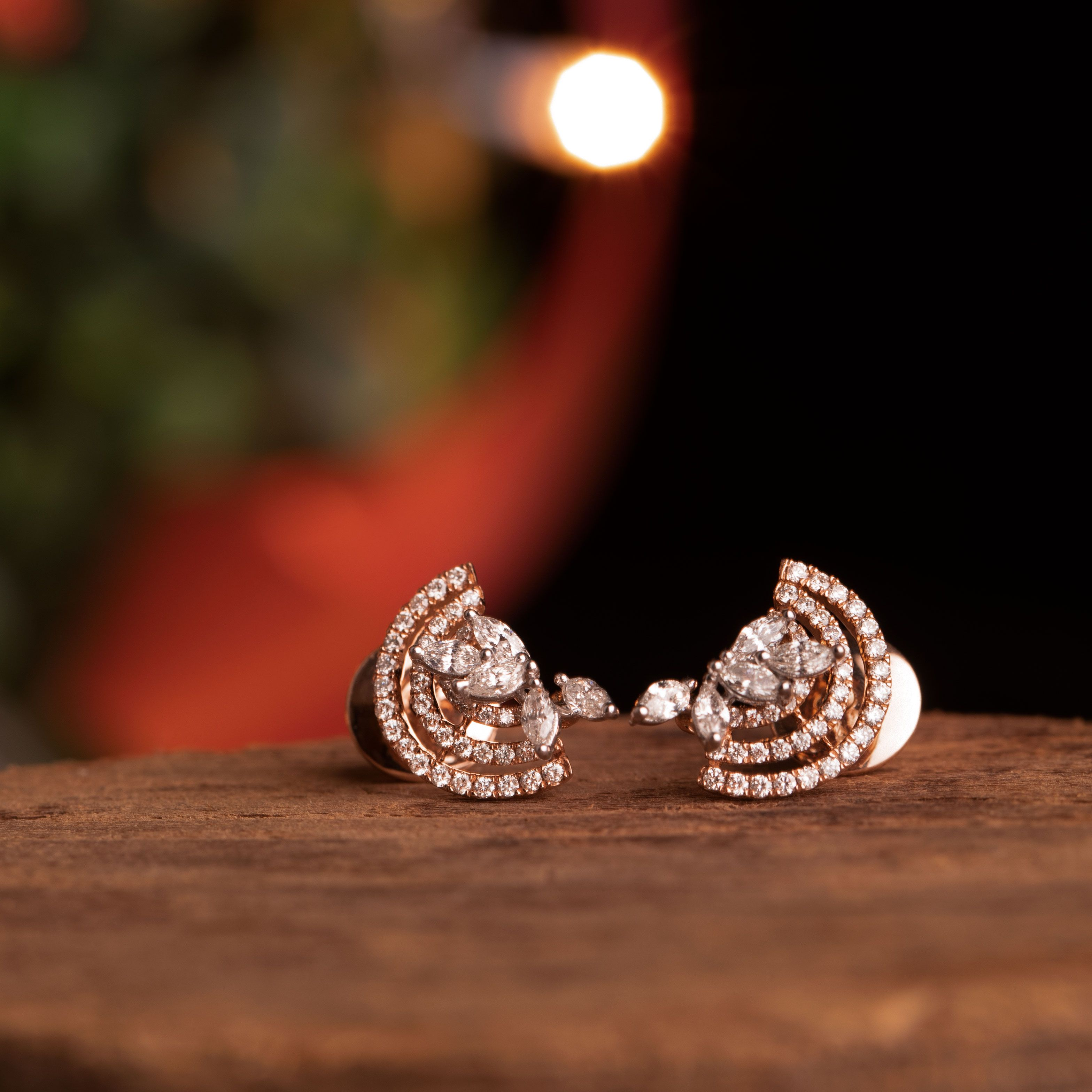 e830d865e Celebrate this Christmas the Sparkling way ✨ Check out these amazing  diamond earrings at the Diamond Mela store today ! SKU#DM019ERGPRE157 ...