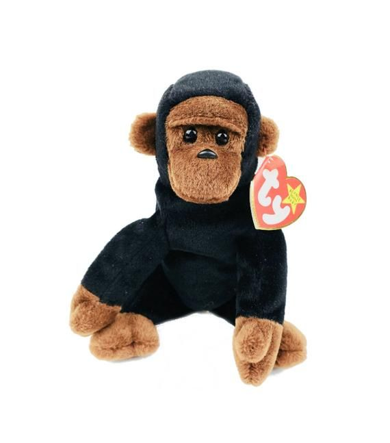 Congo Ty Beanie Baby 1997 Monkey Plush With Tags In 2019