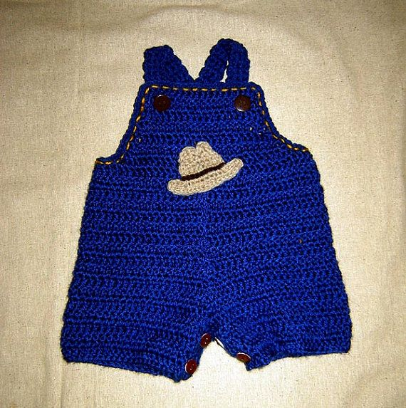 Baby Jeans Romper Overall with Appliques Buttons at by Cathyren