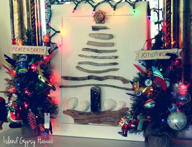 Hawaii Christmas Tree, Peace, Joy via Island Gypsy Hawaii Winter