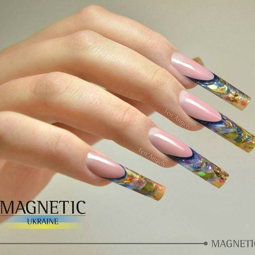 Stunning Nails by Magnetic Ukraine! #nails #nailtrends #nailstyle #nailsbymagnetic #nailtech