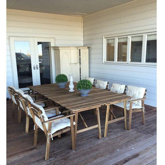 IKEA hack!! Bought the askholmen set X 4 and turned 4 tables - maison france confort brignoles