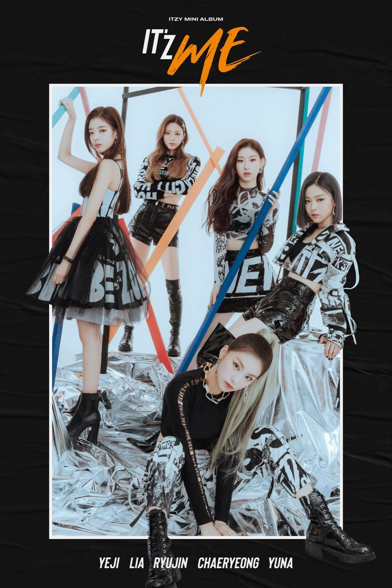 Itzy It Z Me Concept Photo Itzy Kpop Girls Kpop Girl Groups