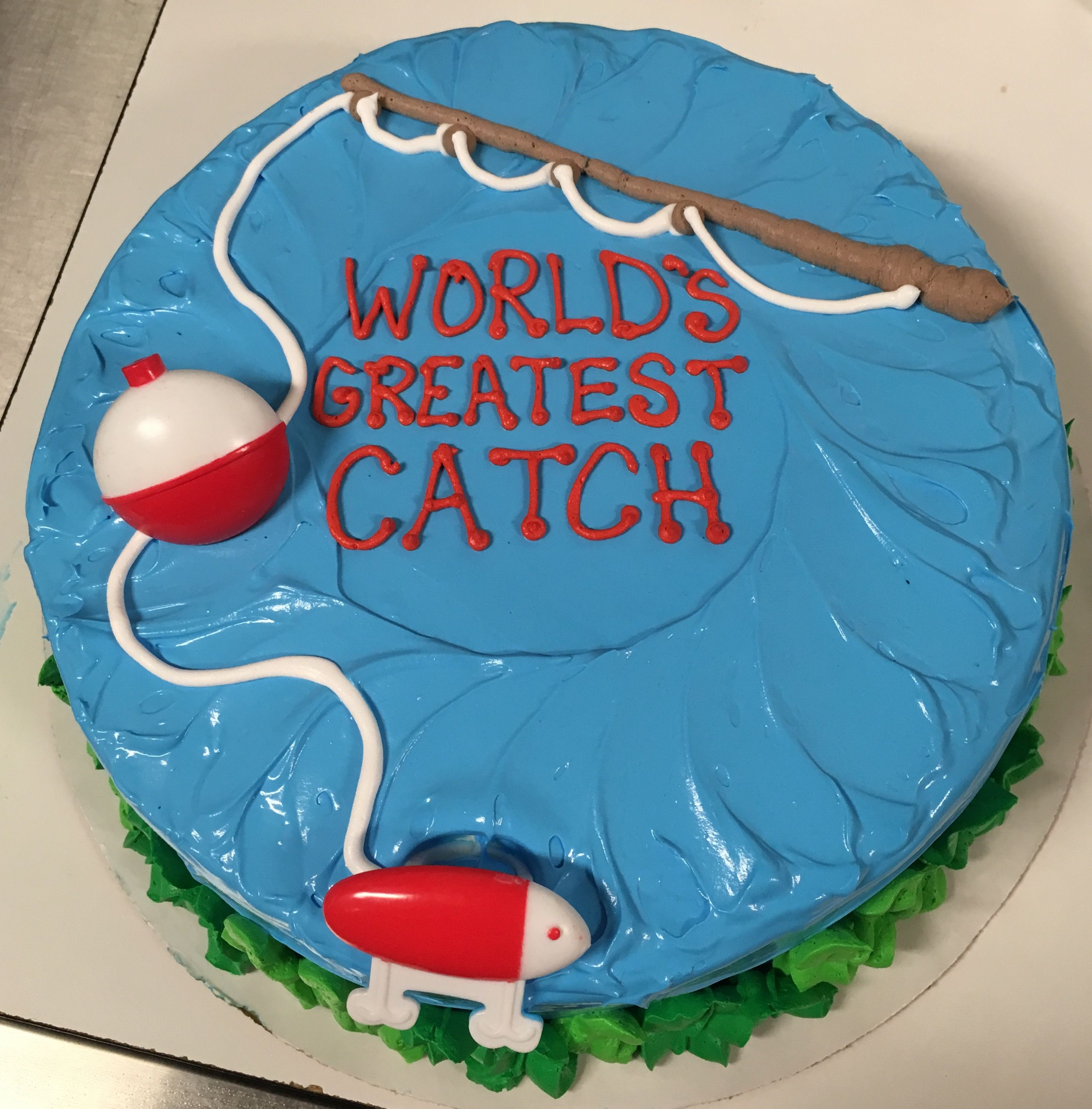 World S Greatest Catch Father S Day Fishing Dq Ice Cream Cake