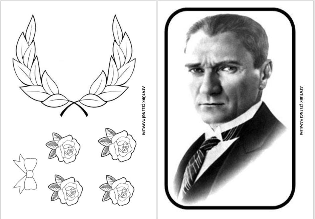 10 Kasim Calismasi Ataturk Celengi Yapiyoruz Cigdem Ogretmen Okul Sanat Teknikleri Okul Oncesi