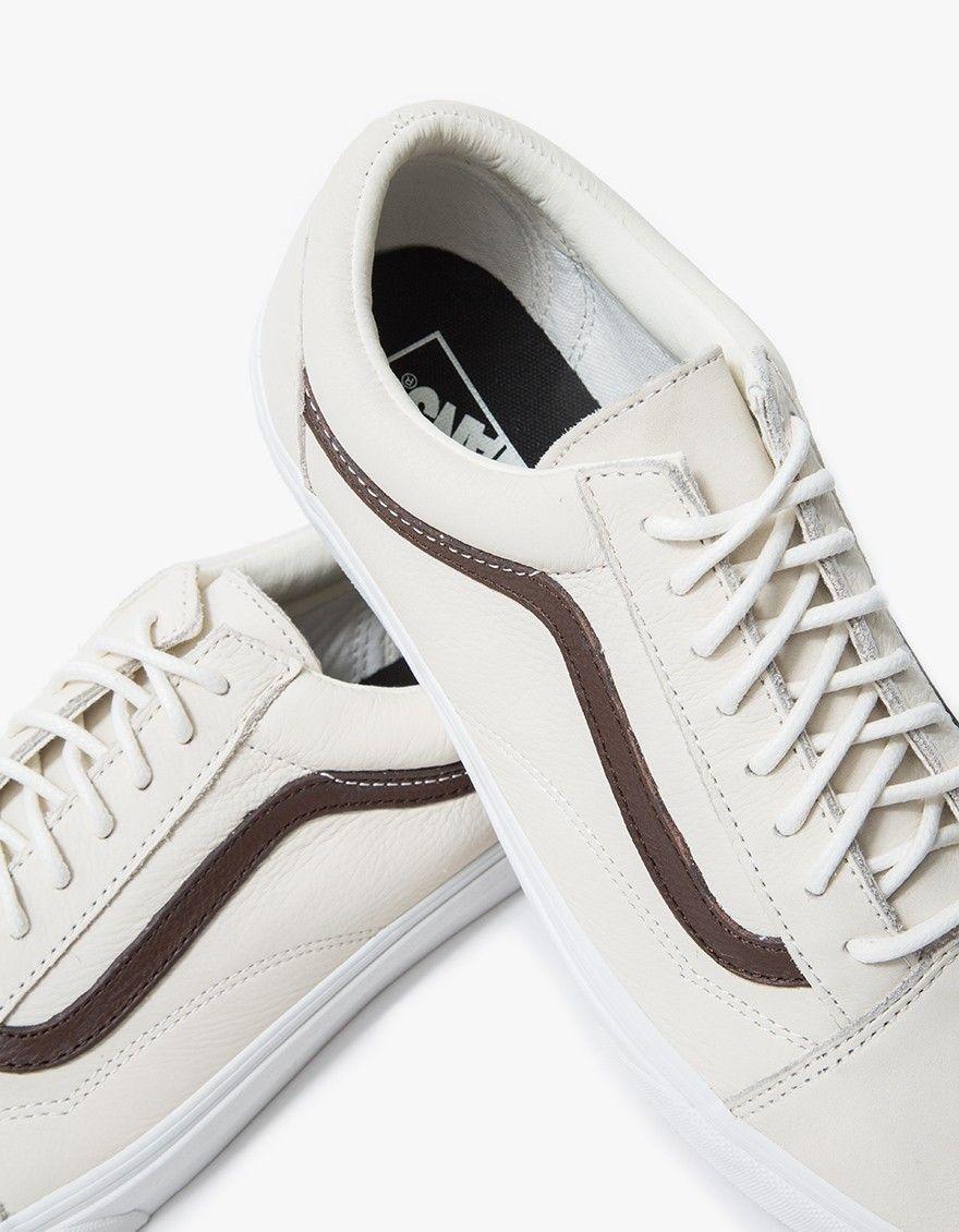 Old Skool in Blanc de Blanc   Classic sneakers, Vans, Sneakers