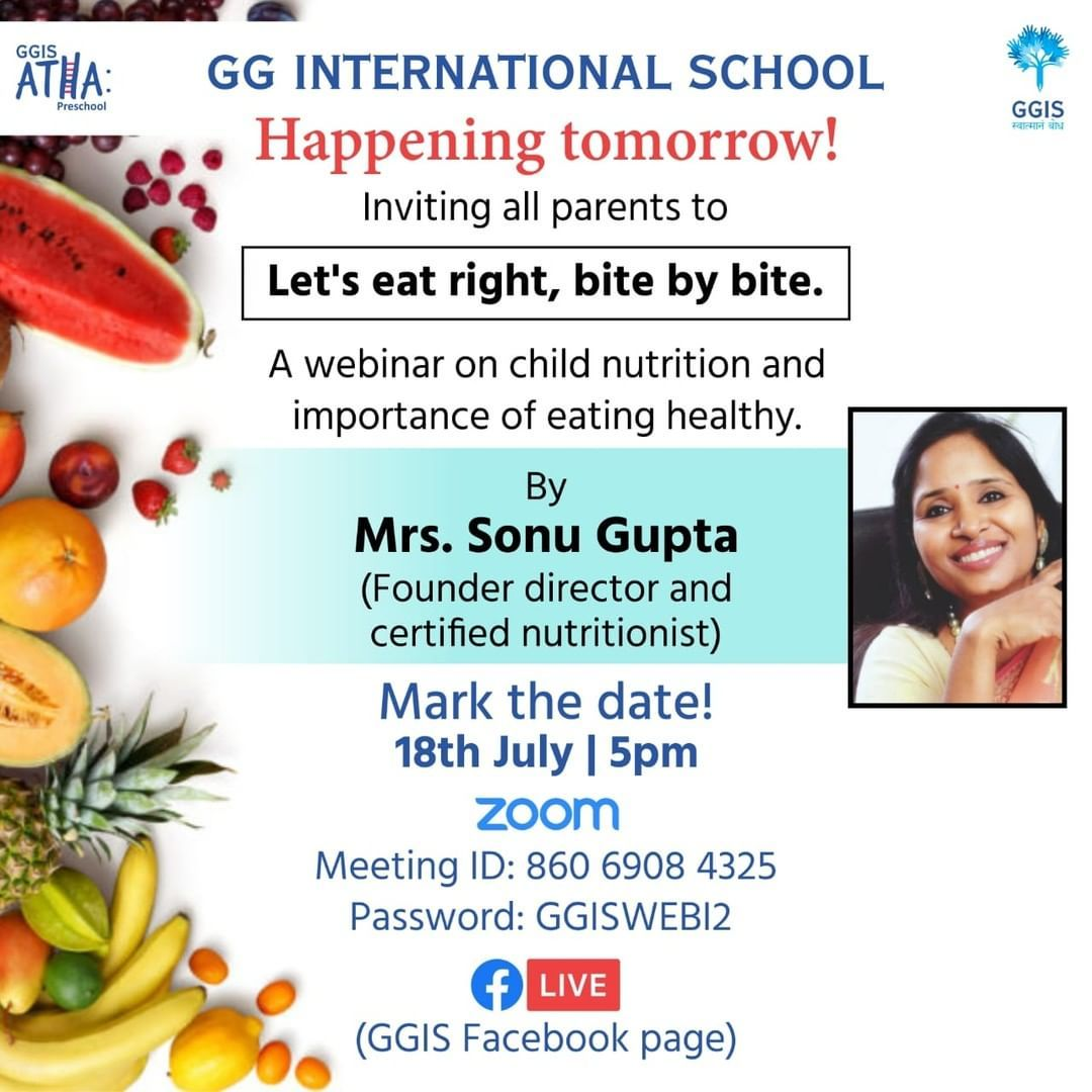 The Wait Is Finally Over Tomorrow Is The Day Yet Again We Are Back With One Of The Most Informative Webinars For A In 2020 Kids Nutrition Nutritionists Nutrition