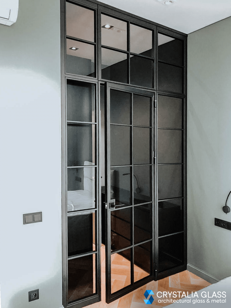 Interior Glass Door With Tinted Glass Glass Door Glass Partition Glass Doors Interior