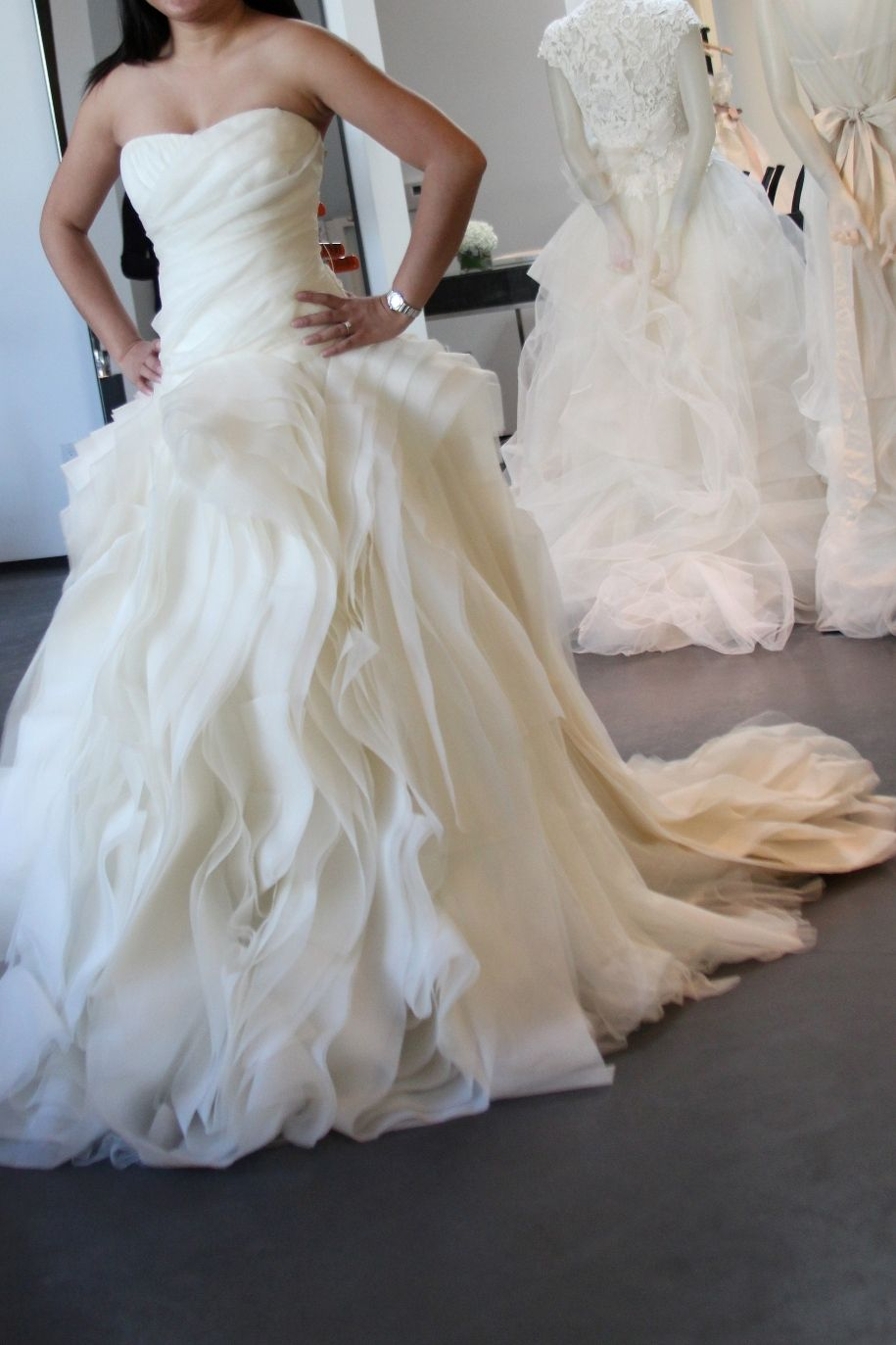 Vera wang diana dress my dream wedding gown i would wear for Average price of vera wang wedding dress