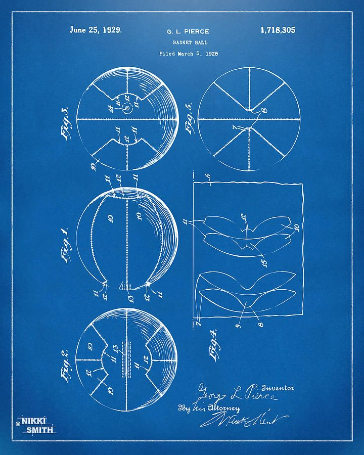 1929 basketball patent artwork blueprint drawing sports quotes 1929 basketball patent artwork blueprint by nikki marie smith malvernweather Choice Image