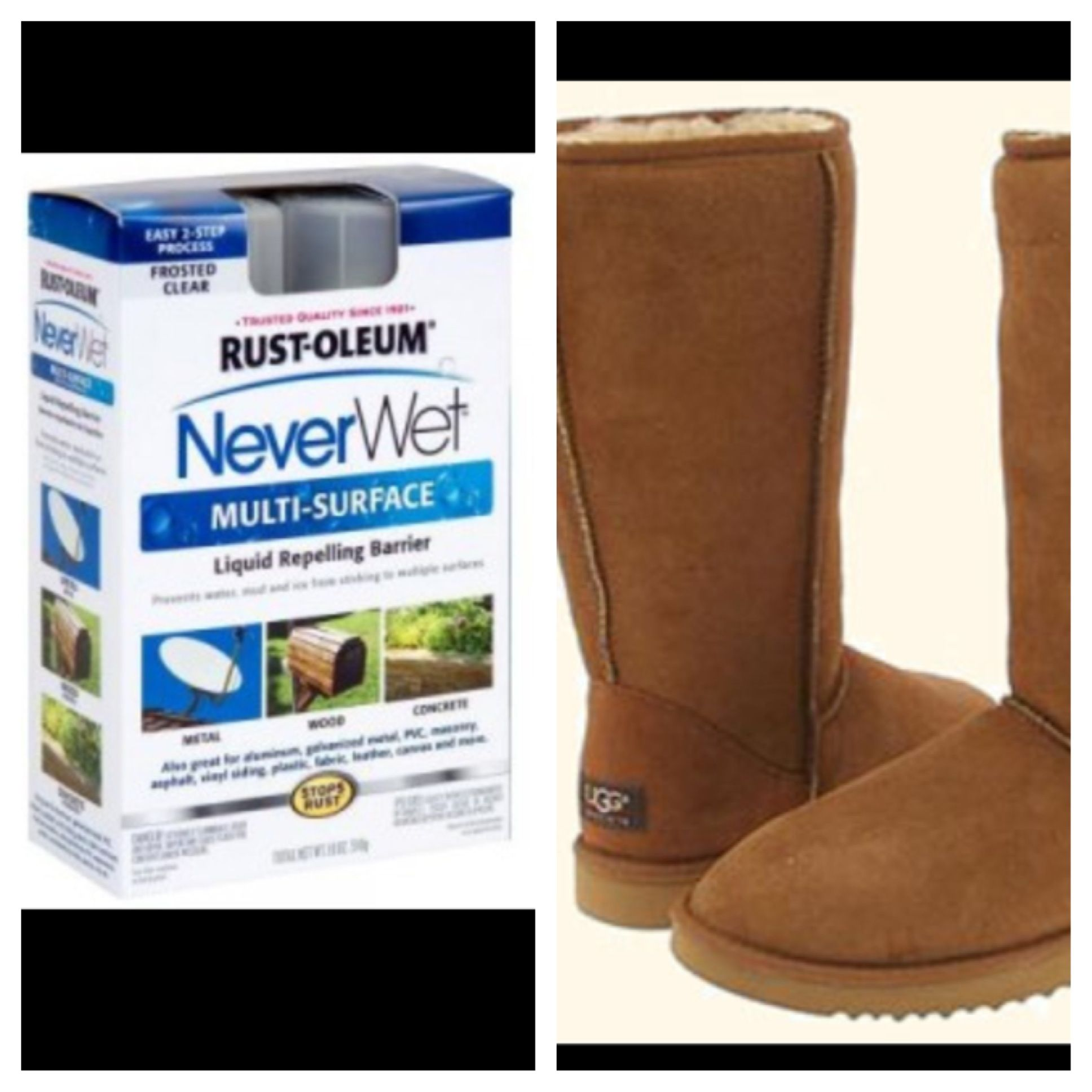 b8820659b4b Boot season is here. Never wet will help with keeping uggs clean ...