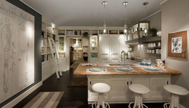 Cucina bianca e rovere: 15 idee luminose per ispirarvi ...