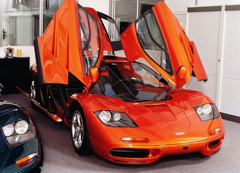McLaren F1 Voitures et motos, Voiture, Motos