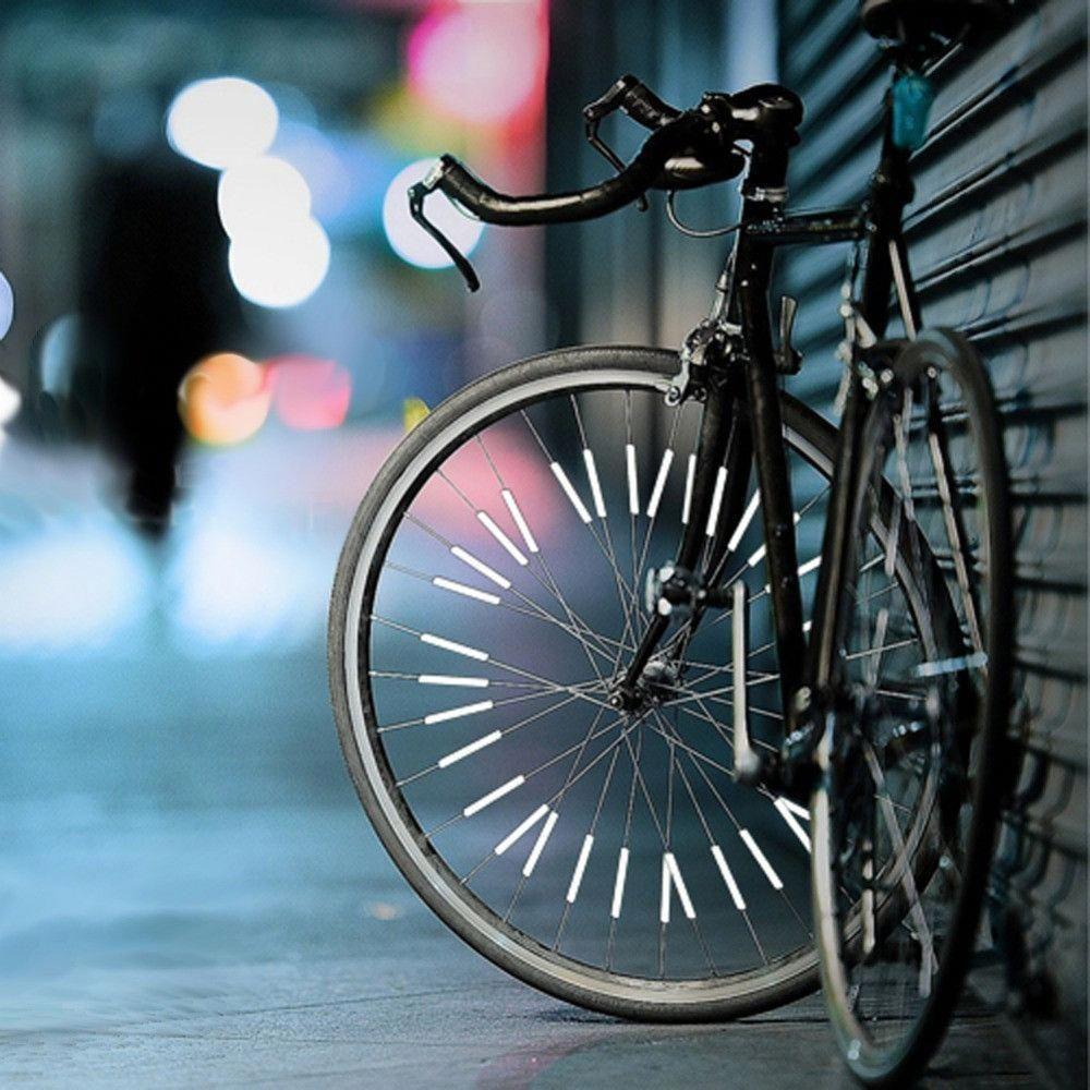 Wheel Reflective Mountain Bike Bicycle Spoke Warning Lights Reflector 1
