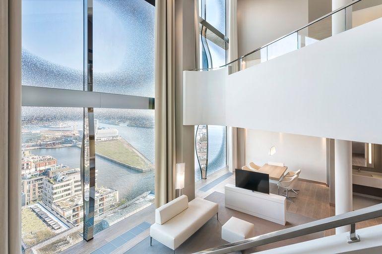 Westin Hamburg Opens In Herzog De Meuron S Brand New Elbphilharmonie Building Interior Design Hospitality Design Hotel