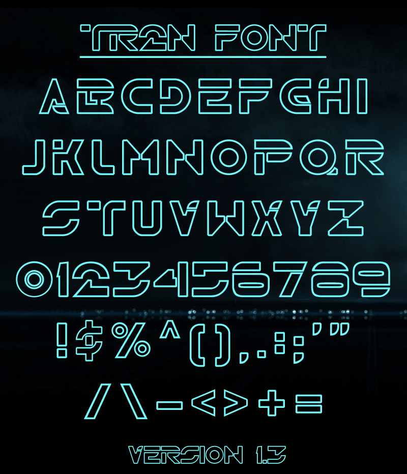 TR2N Font | dafont com | Time to get serious    in 2019 | Tron