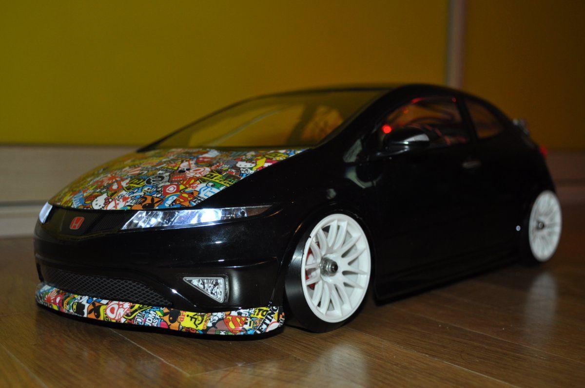 Honda car sticker design - Honda Civic Sticker Bomb Edition Rc Drift Ukraine