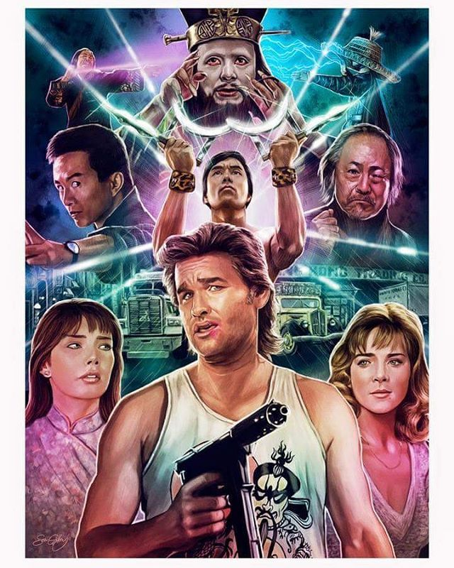 Big Trouble in Little China by Sam Gilbey