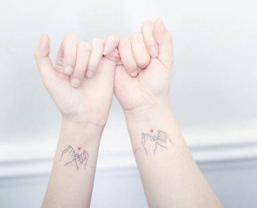 Mis tatuajes favoritos Tatuajes Pinterest Pinky promise tattoo