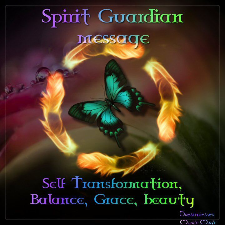 Spirit Guardian Message