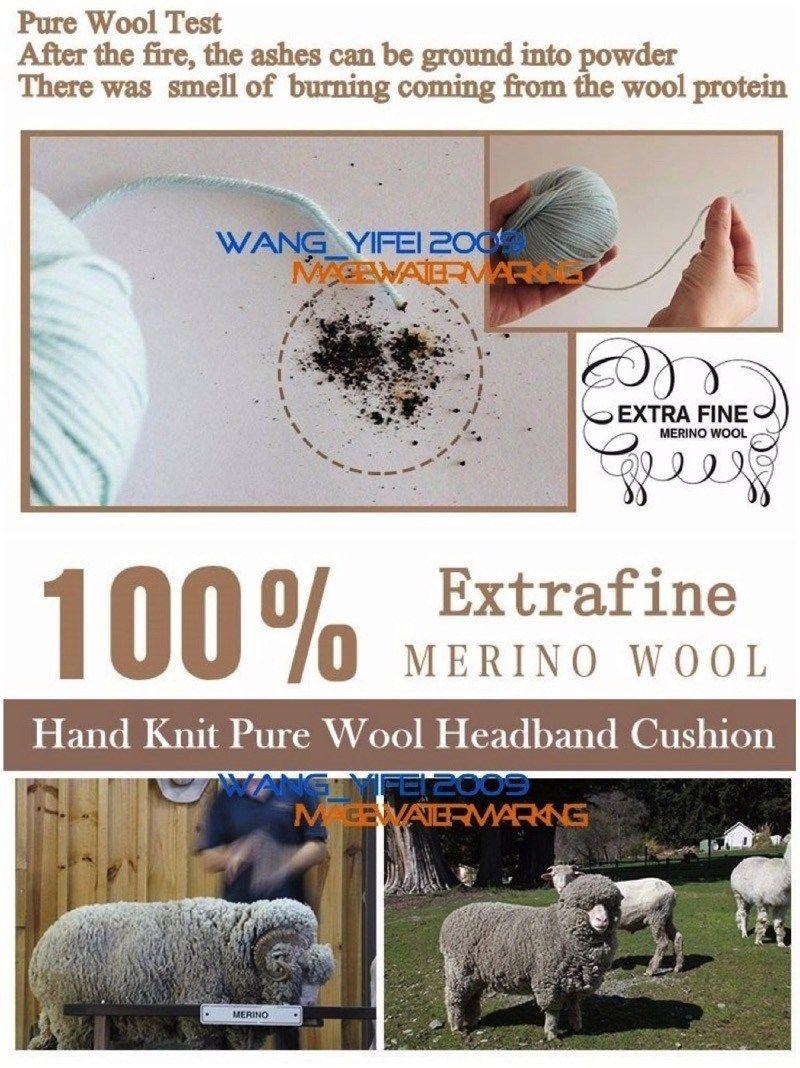 Pure Wool Headband Cushion For Logitech G933 G633 G35 G930 G430 F450