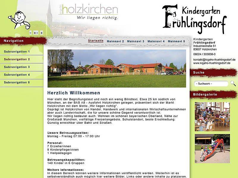 Project day nursery Holzkirchen individual web design Pinterest - holzkchen