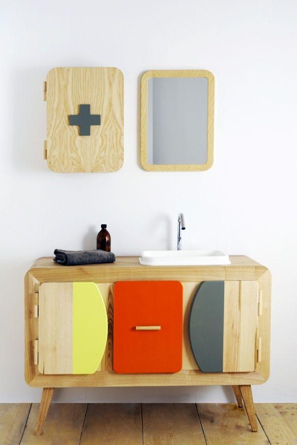 idée meuble salle de bain original