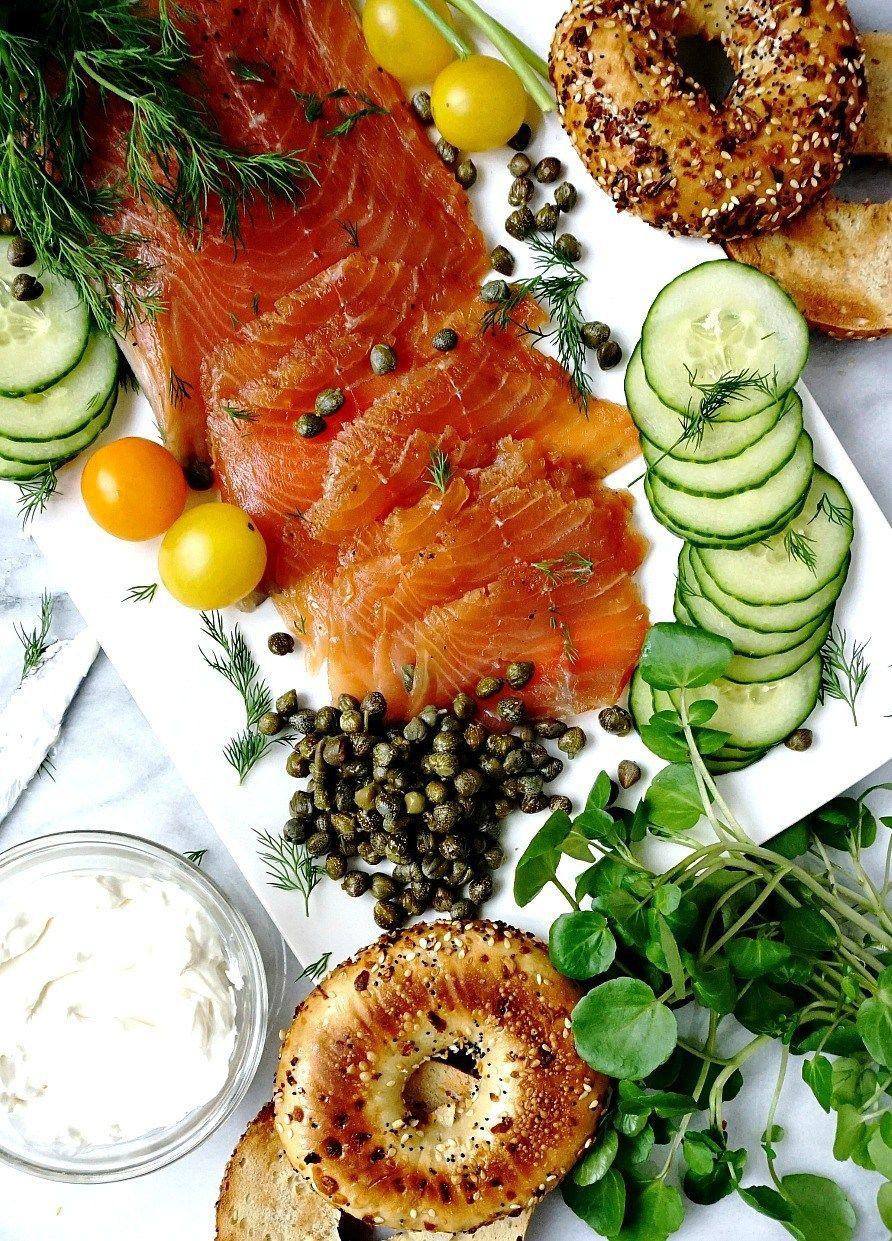 Homemade Lox (Salt-Cured Salmon)