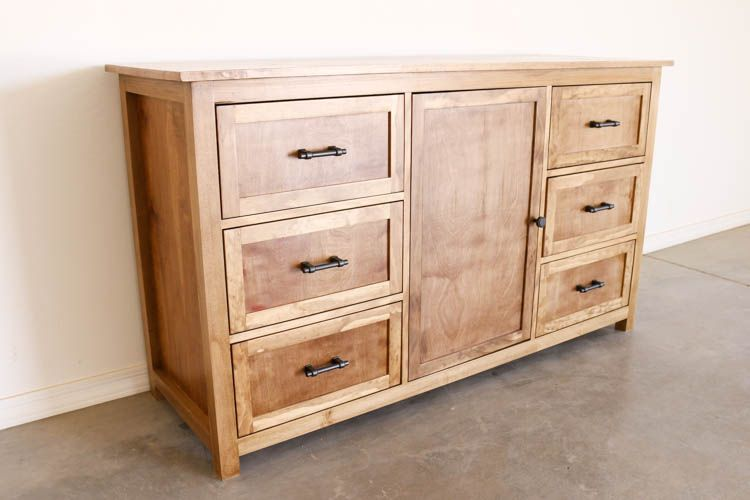 Diy Rustic Dresser W Free Building Plans Rustic Dresser Diy Dresser Plans Diy Furniture Plans
