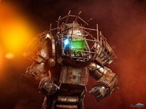 fallout4 raider power armor cosplay by westsliderz fallout