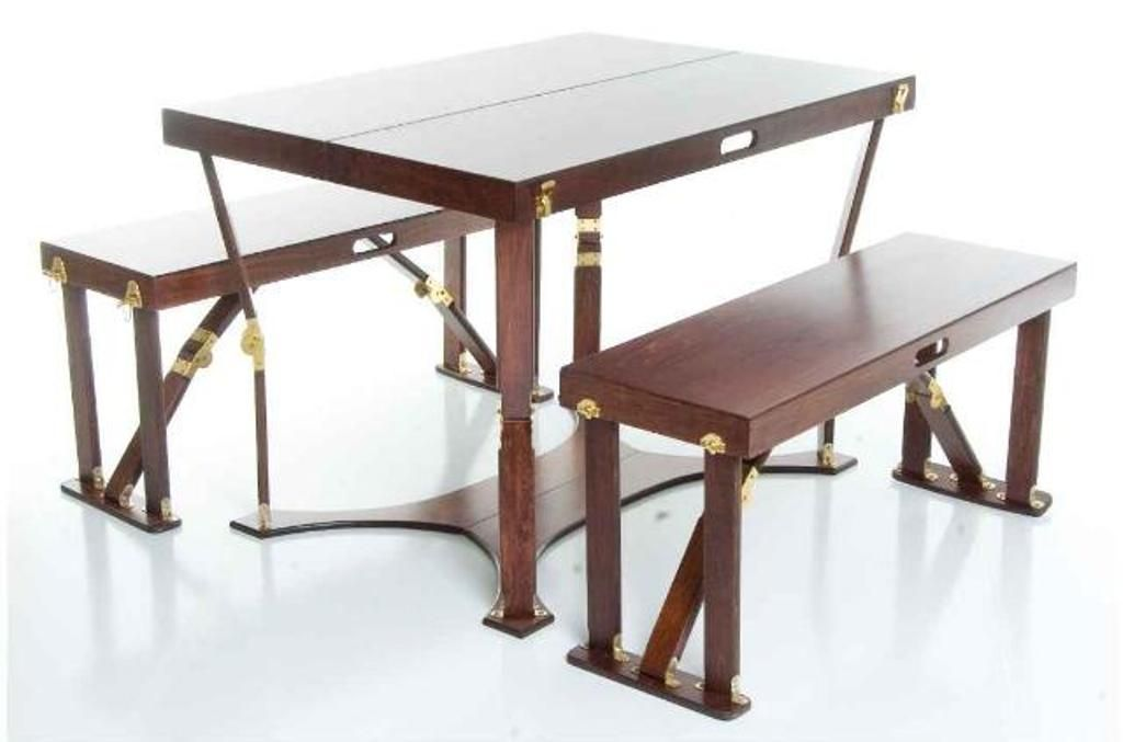 Portable Picnic Table And Benches