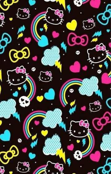 New wallpaper iphone dark skull hello kitty 36+ ideas