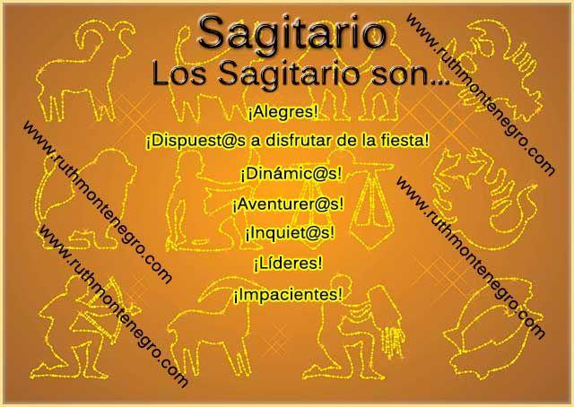 Características positivas y negativas de Sagitario