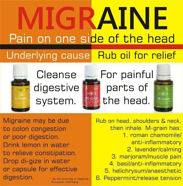 migraine health huiles essentielles sant et huile. Black Bedroom Furniture Sets. Home Design Ideas