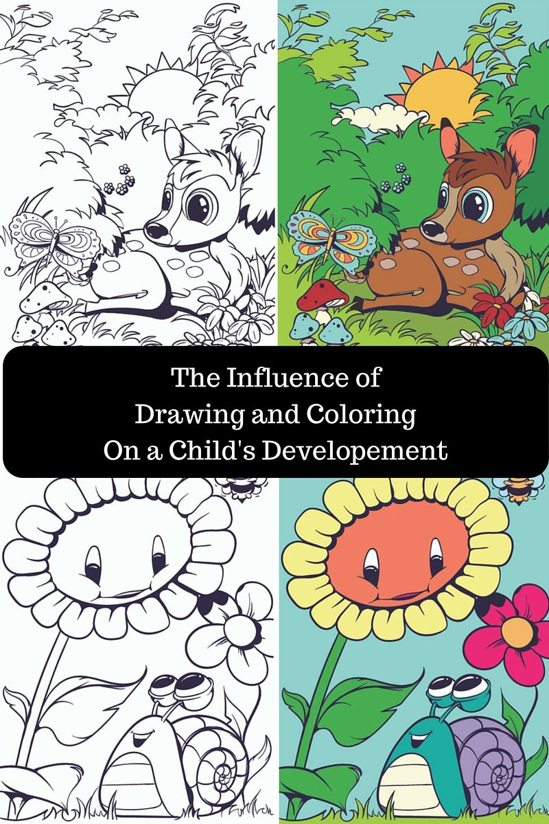 The Influence of Drawing and Coloring on a Child`s Development