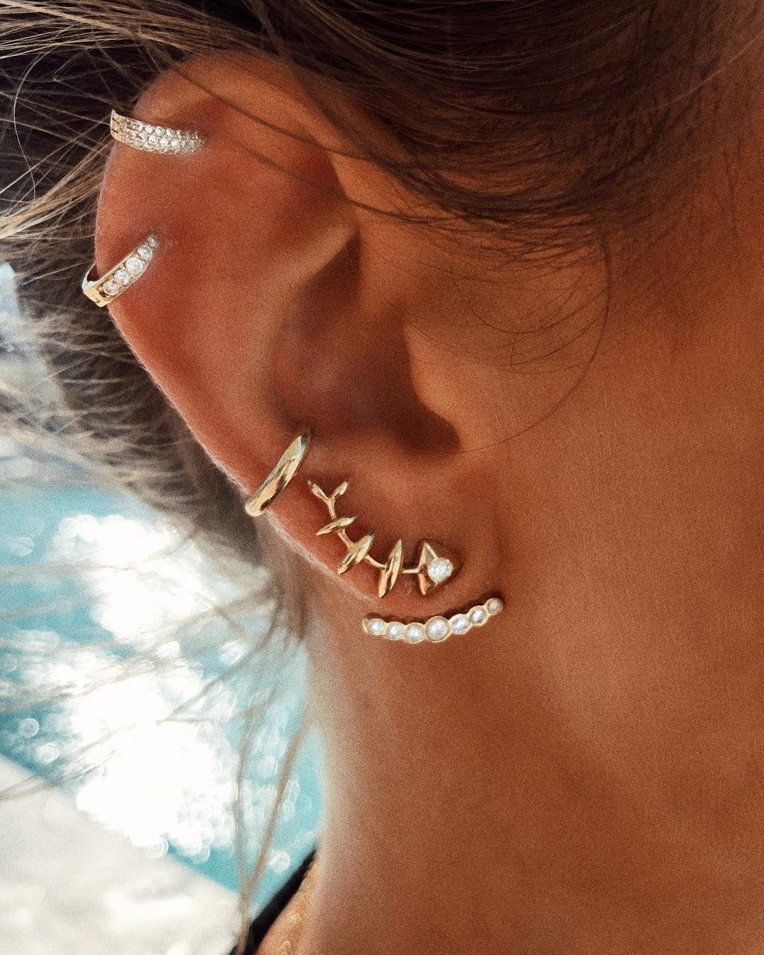 Pin by Carole Price on artist in 2019 | Earrings, Gold earrings