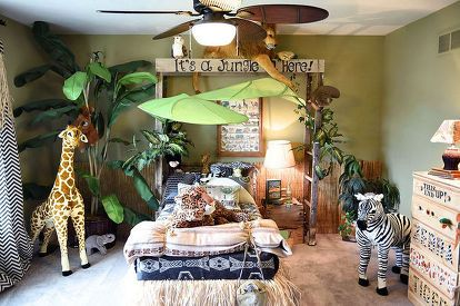 Jungle Thema Slaapkamer : Jungle themed bedroom in 2018 baby pinterest