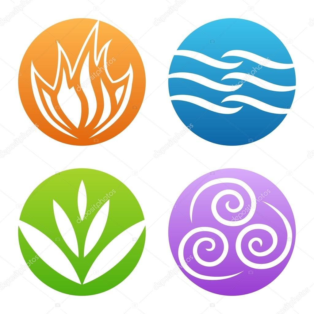 Symbols of four elements vector air pinterest symbols see a rich collection of stock vectors images for earth wind fire water you can buy on shutterstock biocorpaavc Choice Image