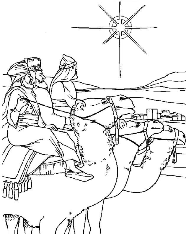 Coloring page Bible Christmas Story Bible Christmas Story on Kids-n - new coloring pages for christmas story