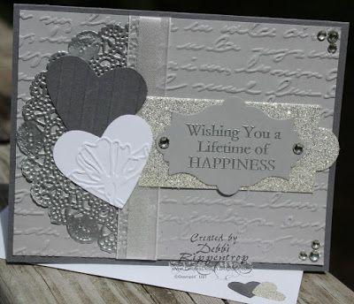 Debbi S Design Stamping Silver Wedding