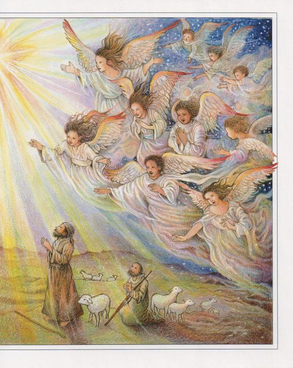 angels on earth magazine angel images – Angels Announce the Birth of Jesus