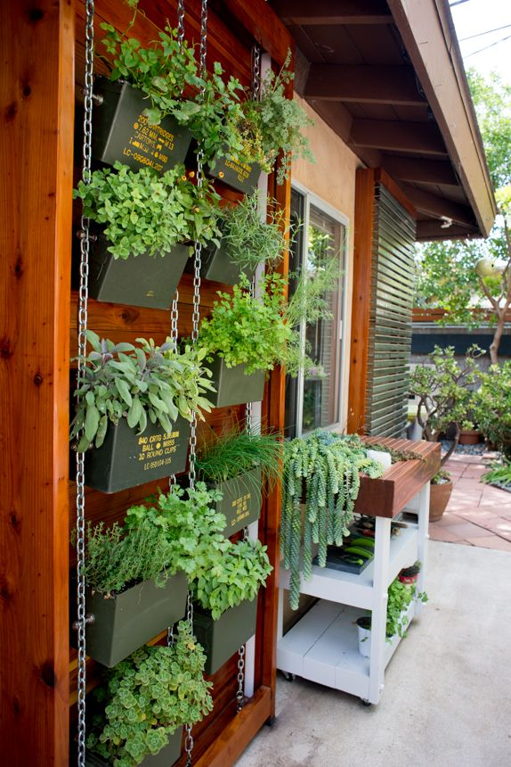 Ammo Can Vertical Herb Garden Ryan Benoit Design 2017