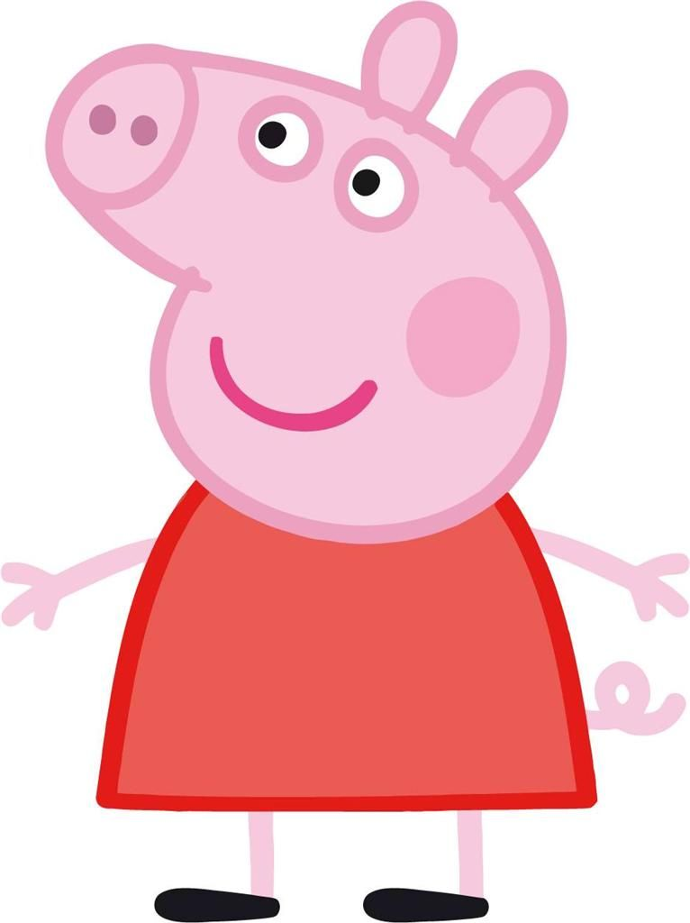 Pig Cliparts - Cliparts co | Cute in 2019 | Peppa pig, Pig character
